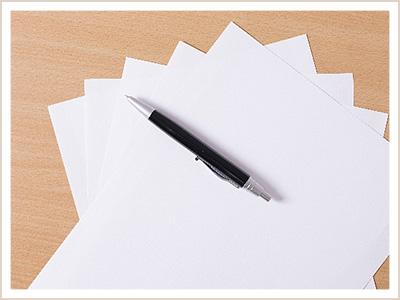 採用の流れ①書類選考